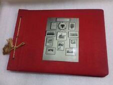 old albanian book album-Enver Hoxha-propaganda-military fair-communism-1965-rare