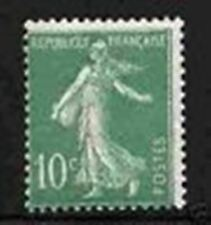 "FRANCE STAMP TIMBRE YVERT ET TELLIER 188 B "" SEMEUSE 10c VERT "" NEUF xx LUXE A85"