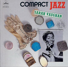 Sarah Vaughan : Compact Jazz (CD 1990)  *NR. MINT*  16 TRAX!!  FREEUK24-HRPOST!!