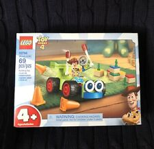 LEGO Toy Story 4 10766 Woody & RC 69 Pcs Building Toy Set and Figure