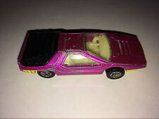 ALFA ROMEO CARABO violet MATCHBOX No 75 Superfast  (C) 1970 Made in England