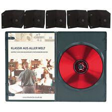 DVD Hüllen Slim: DVD Slim (7 mm) Einzel Box 50er-Set schwarz (DVD-Huellen)
