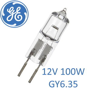 20 Pack Of Halogen Capsule Bulb 12v GY6.35 100w - GE - General Electric 34664