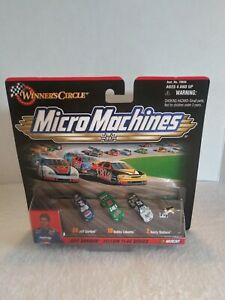 Galoob 1999 Nascar Micro Machines Jeff Gordon Yellow Flag Series New Unopened