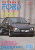 Performance Ford magazine 12/1990 Vol.4, No.8