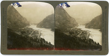 Stereo Canada, Yale and the Fraser River released from the canyon, B.C., 1906 Vi