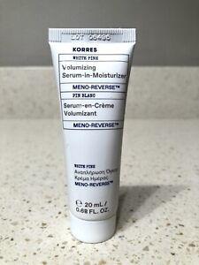KORRES Meno-Reverse Volumizing Serum-in-Moisturizer 0.68 oz White Pine SEALED