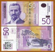Serbia, 50 Dinara, 2005, P-40, UNC