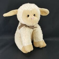 """Lullaby Lamb Plush 8""""  GUND Musical Stuffed Animal Plays Jesus Loves Me"""