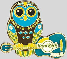 Hard Rock Cafe ONLINE 2015 OWL on GUITAR Series #1 of 3 LE Only 50 Made! NEW!