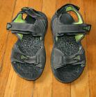 SMITH'S men's sport beach walking summer open toe water sandals.Size 9M.Charcoal