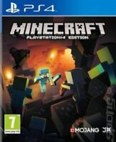 Minecraft: PlayStation 4 Edition (PS4)- NEW- 1st Class Fast & Free Delivery