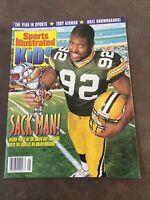 1997 January Sports Illustrated For Kids Magazine Reggie White Oscar De La Hoya