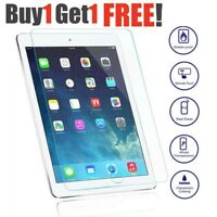 Genuine Tempered Glass Screen Protector For Apple iPad 2 3 & 4 Retina BUY1 GET2