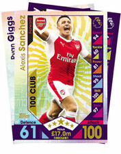 2017 Season Single Soccer Trading Cards