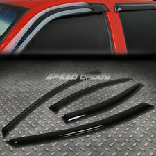 FOR 00-05 DODGE NEON 4D SMOKE TINT WINDOW VISOR/WIND DEFLECTOR VENT RAIN GUARD