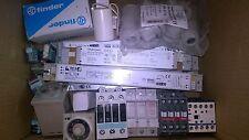 STOCK materiale elettrico,relè, contattori, salvamotori Omron Schneider