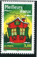 STAMP / TIMBRE FRANCE OBLITERE N° 3201 MAISONS DECOREES