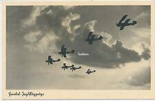 AK Heinkel Jagdflugzeuge  gelaufen 1940  ( V592)