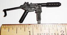 BIN B7  G I JOE Accessory Wreckage 1998 2003 2004 2005 Firefly  Sub Machine Gun