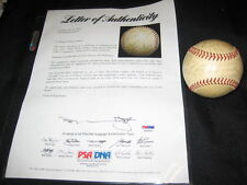 1950's HOFs & STARS (17) SIGNED AUTOGRAPHED REACH BASEBALL DIMAGGIO PSA/DNA RARE