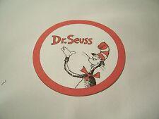 Dr. Seuss Cat in the Hat- Cupcake Picks-Set of 24