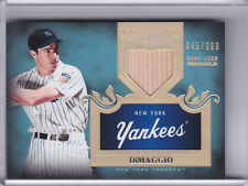 2011 TOPPS TIER ONE #5 JOE DIMAGGIO BAT NEW YORK YANKEES HOF 45/399