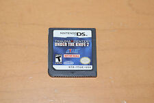 Trauma Center: Under the Knife 2 Nintendo DS NFR Not For Resale Kiosk Demo