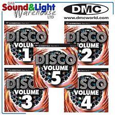 New DMC Essential Disco Vol 1 2 3 4 & 5 Clubber DJ Club CD Discount Pack Bargin