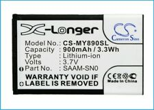 Replacement Battery For SAGEM 3.7v 900mAh / 3.33Wh Mobile, SmartPhone Battery