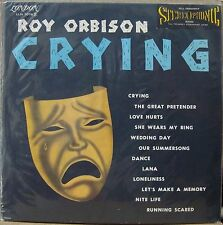 ROY ORBISON 1962 Crying VERY RARE! Stereo London LLN 7.078 S LP BRAZIL