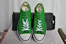 Vintage Nos Jungle Lime Green Chuck Taylor Converse All Star Shoes w/Box Unisex