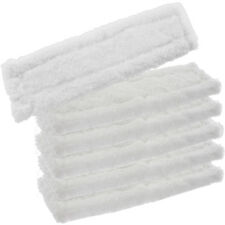 6 x KARCHER WV50 Window Vacuum Cloths Covers Spray Bottle Glass Vac Cleaner Pads