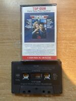 1986 Top Gun Original Motion Picture Soundtrack Cassette Tape Tom Cruise