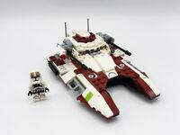 Lego Star Wars 75182 Republic Fighter Tank w/Clone Trooper Gunner 99% complete