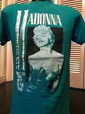 VTG 87 Madonna Girl Tour Shirt Sz M Blondie Berlin Nina Hagen Rock Doubt Gwen L7
