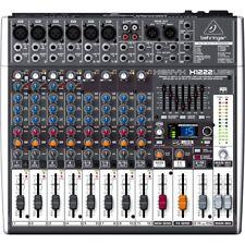 BEHRINGER XENYX X1222USB mixer studio professionale USB 16 canali NEW garanziaIT