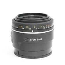 NEW SONY DT 50mm F1.8 SAM Lens for A Mount (SAL50F18)