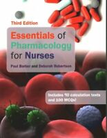 Essentials of Pharmacology for Nurses by Paul Barber 9780335261963 | Brand New