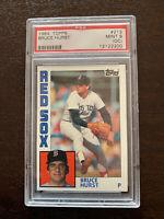 1984 Topps Baseball #213 Bruce Hurst Boston Red Sox PSA 9 OC MINT