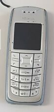 Used Nokia 3120 Classic Sell Phone Mobile GSM UNLOCKED Silver Blue,FREE SHIPPING