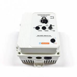 KB-Electronics KBAC-29 Adj Frequency Drive, 9529, White FDA, 1/3PH 230V 50/60Hz
