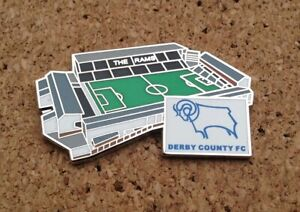 Derby County FC - Baseball Ground Stadium Pin/Badge