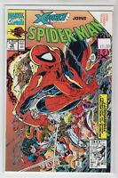 X-Force joins Spider-Man Issue #16 Marvel Comics (Todd McFarlane Cover 1991)