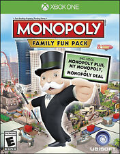 Monopoly Family Fun Pack (Microsoft Xbox One, 2014)