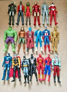 MARVEL / DC COMICS 12 INCH TITAN HERO SUPERHERO ACTION FIGURES - CHOOSE A FIGURE