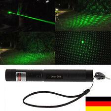 2 Schlüssel Blitzversand Grün Laser 9 km extrem Stark Laserpointer