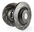 EBC Ultimax Rear Solid Brake Discs for MG ZT-T 1.8 Turbo (2002 > 05)