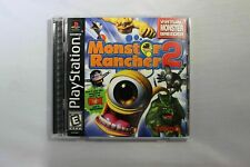 Complete Monster Rancher 2 - PS1 Game