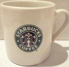 STARBUCKS COFFEE ESPRESSO CERAMIC MINI CUP MUG MADE IN THAILAND 2.25 x 2.25